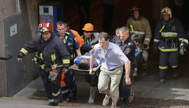 Foto: Cel puţin 25 de persoane au fost rănite în coliziunea a două garnituri  de metrou  în Singapore