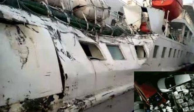 Foto: Coliziune navală cu pagube materiale și răniți