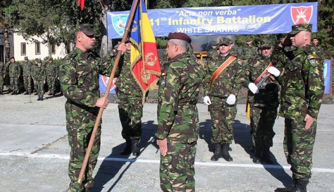 """Foto: Comandant nou în cadrul Brigăzii """"Rechinii Albi"""""""