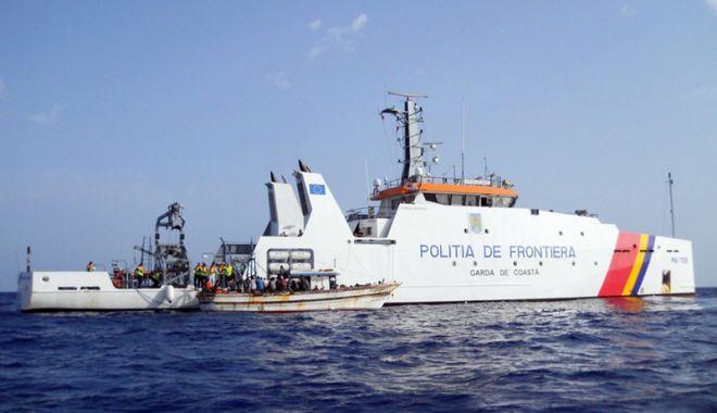 Foto: Comandantul pescadorului prins la braconat în Marea Neagră, arestat preventiv