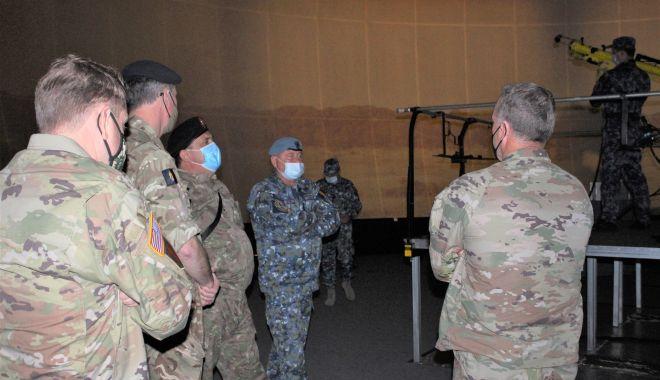Comandanţi din armatele SUA şi Marea Britanie, în vizită de lucru, în Poligonul Capu Midia - comandanti1-1620824765.jpg