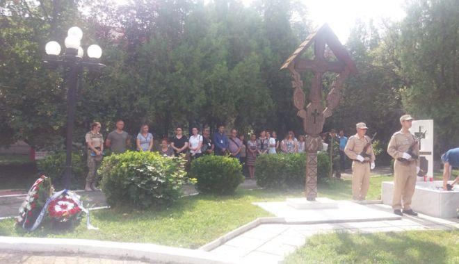 Opt ani de la accidentul aviatic de la Tuzla. Ceremonie pentru comemorarea militarilor căzuţi la datorie - comemorare1ok-1530807080.jpg
