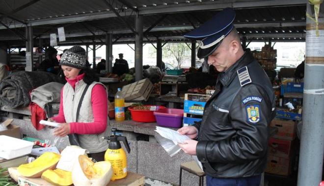 Foto: Comerţul ilicit,  în atenţia poliţiştilor  şi jandarmilor