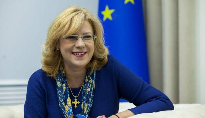 Foto: Corina Creţu a aprobat majorarea cotei de fonduri europene pentru metrou şi autostrăzi în România