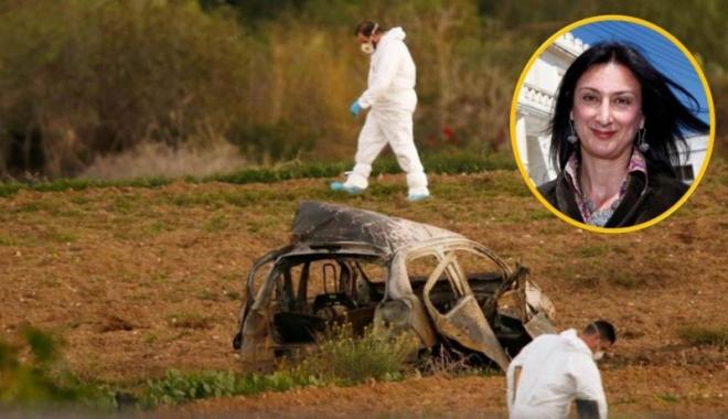 Foto: Comisia Europeană, îngrozită de uciderea jurnalistei malteze Daphne Caruana Galizia