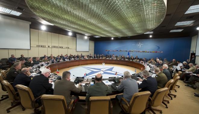 Foto: Şeful Statului Major General participă  la Comitetul  Militar NATO