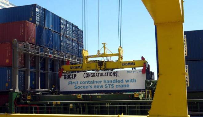 Compania Socep a deschis un nou capitol în istoria traficului de containere de la Marea Neagră - companiasocep8-1495985233.jpg