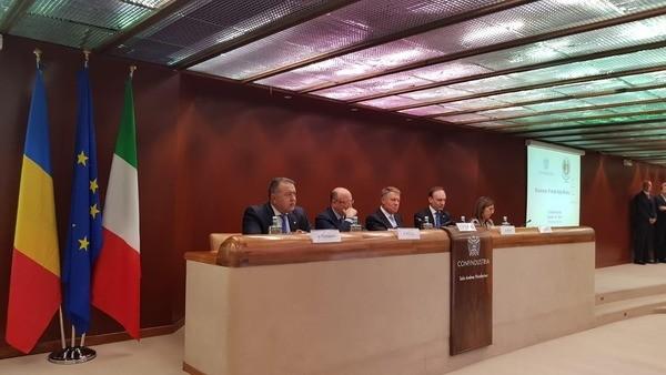 Foto: Companiile italiene, adevărați ambasadori ai business-ului în România, afirmă Mihai Daraban
