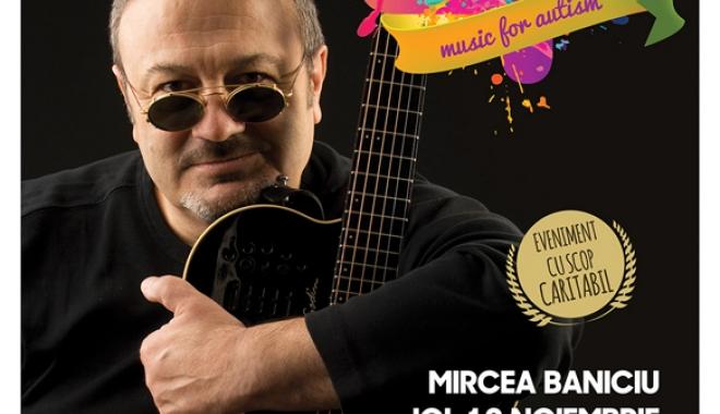 Foto: Concert caritabil Mircea Baniciu, la Constanţa