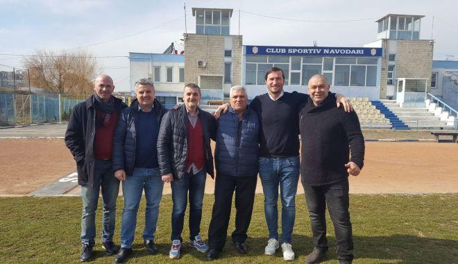 Foto: Conducerea FR de Rugby, în vizită la Năvodari