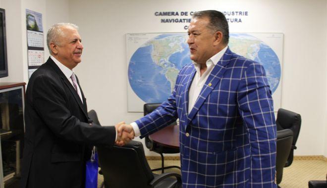 Foto: Conducerea CCINA a primit vizita noului consul general al Republicii Turcia la Constanța