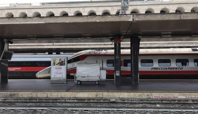 Foto: Scandal în Italia.  Un conductor  a vrut să dea jos romii din tren