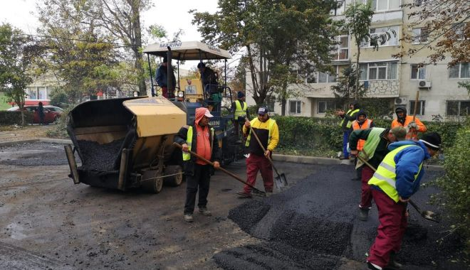 Foto: Confort Urban asfaltează bulevardul Tomis! Cum se modifică  circulația