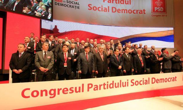 Foto: Congresul extraordinar al PSD, REPROGRAMAT