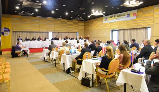 Foto: Congresul Federaţiei Internaţionale de Sanie, la Eforie Nord