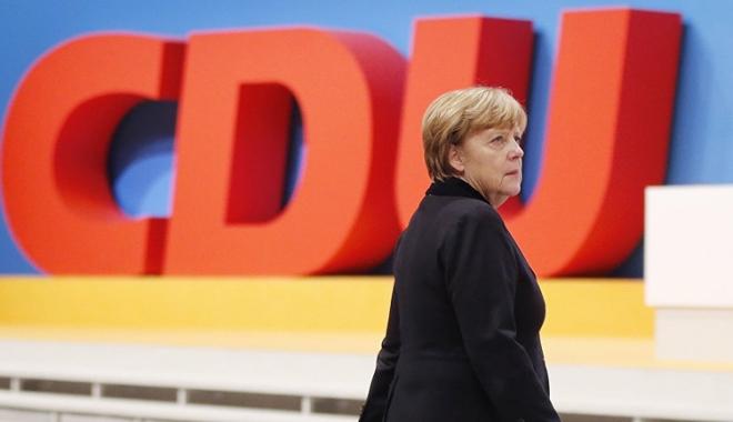 Foto: Conservatorii Angelei Merkel obţin cel mai scăzut sprijin în ultimii  6 ani