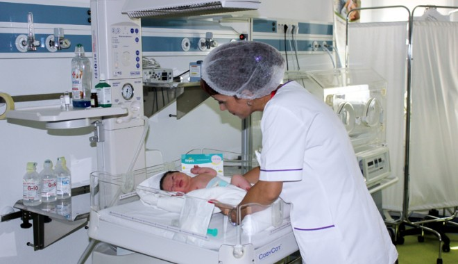 Foto: Un nou serviciu la Euromaterna. Ce se întâmplă cu bebeluşii născuţi prematur