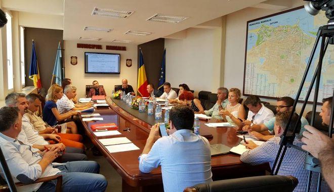 Foto: Consilierii din Mangalia au aprobat sistematizarea unor cartiere ale orașului