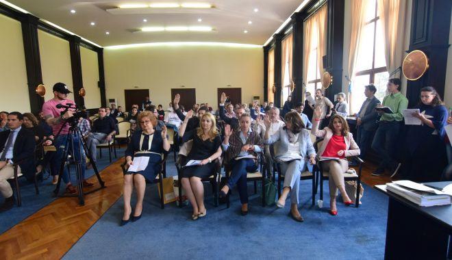 Foto: UPDATE. A început Ședința Consiliului Local Constanța. Ce proiecte au trecut de vot