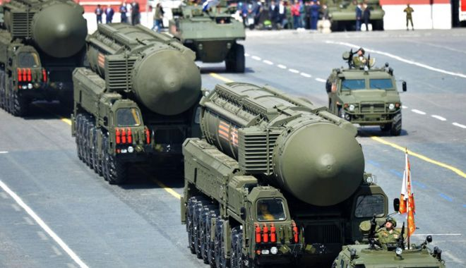 Foto: Consiliul Federaţiei  a propus actualizarea strategiei Rusiei privind utilizarea armelor nucleare