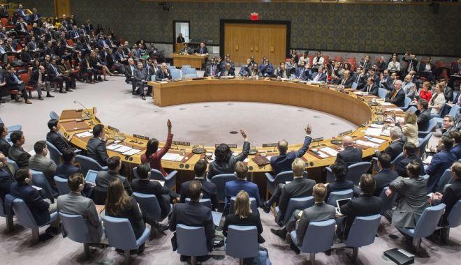 Foto: Consiliul de Securitate al ONU, discuţii cu uşile închise despre criza din Libia