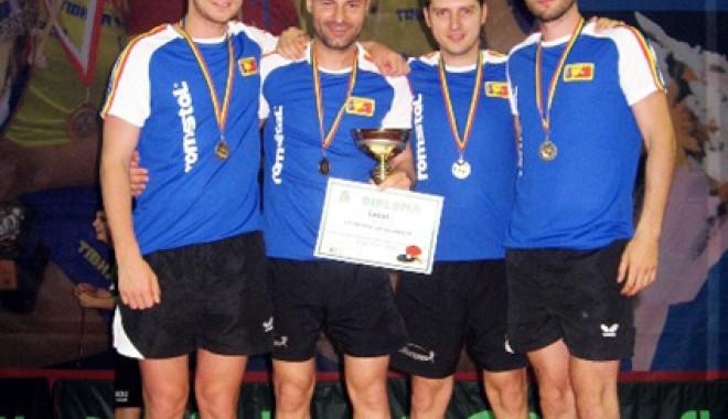 Foto: Constanţa are echipă campioană la tenis de masă!