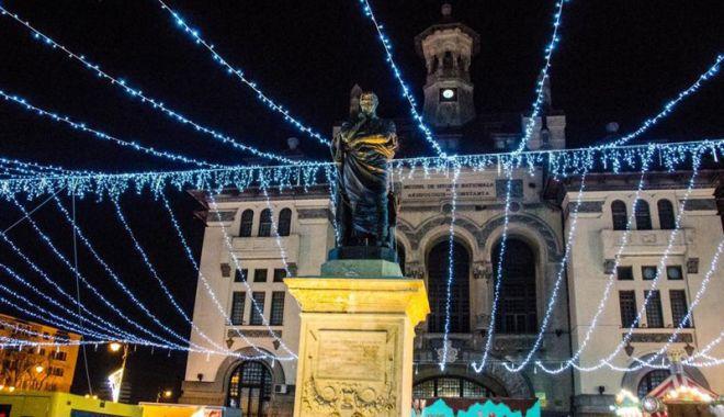 Foto: Constanța a rămas fără Târg de Crăciun! Evenimentul din Piața Ovidiu s-a închis