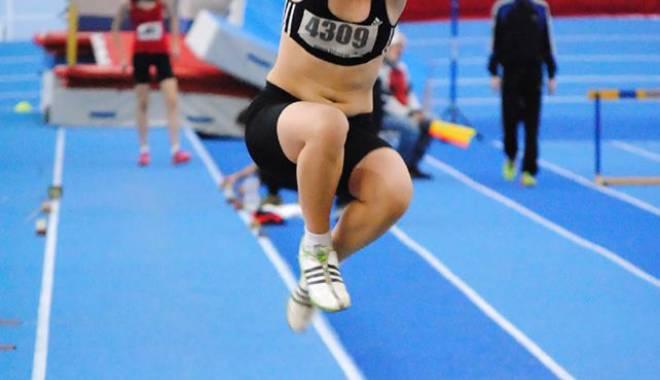 Foto: Constanţa a cucerit trei medalii la proba de triplusalt, la CN indoor