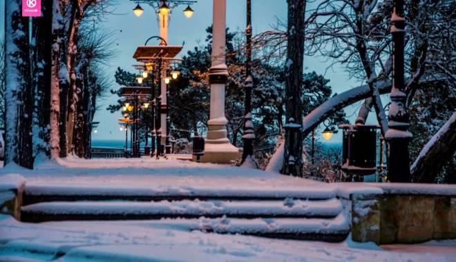 IMAGINI DE BASM / Prima ninsoare din această iarnă la Constanța - constantafalezaninsoare2-1417341228.jpg