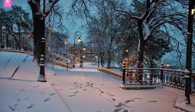 IMAGINI DE BASM / Prima ninsoare din această iarnă la Constanța - constantafalezaninsoare6-1417341239.jpg