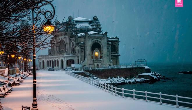 IMAGINI DE BASM / Prima ninsoare din această iarnă la Constanța - constantafalezaninsoare8-1417341256.jpg