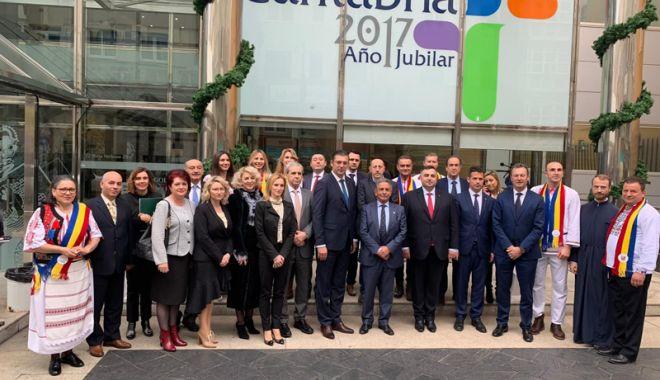 "Foto: Constanța s-a înfrățit cu regiunea Cantabria. ""Vom identifica și aplica proiecte transfrontaliere comune"""