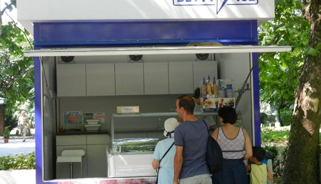 Foto: Vrei să vinzi înghețată în sezonul estival? Primăria Constanța organizează o nouă licitație