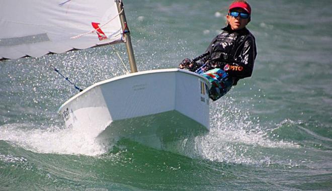 Foto: Constănţeanca Iris Reşit, campioană naţională la yachting