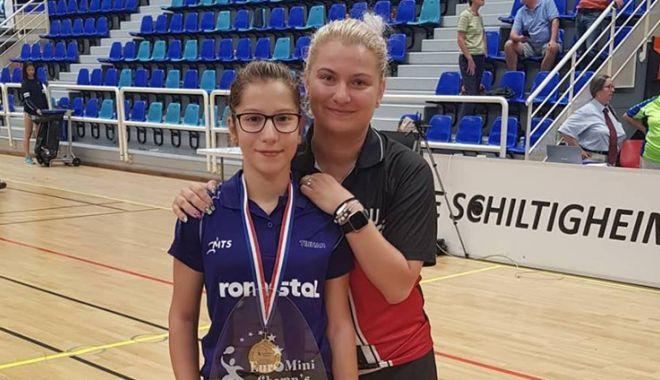 Foto: Constănţeanca Bianca Meiroşu, campioană la Euro Mini Champs