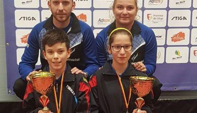 Foto: Constănţeanca Bianca Meiroşu, campioană  la Stiga Masters U14