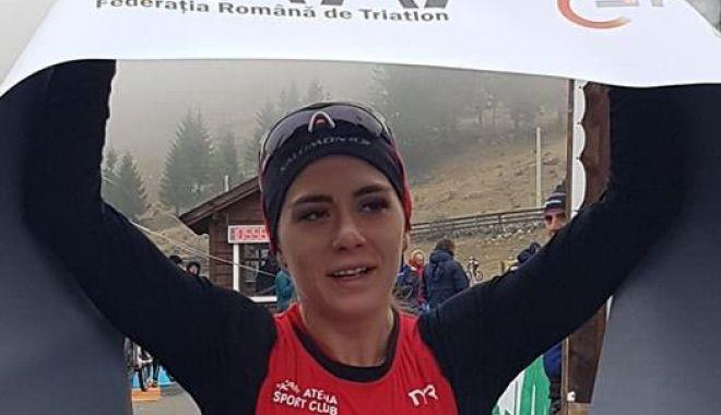 Foto: Constănţeanca Antoanela Manac, campioană naţională la duatlon