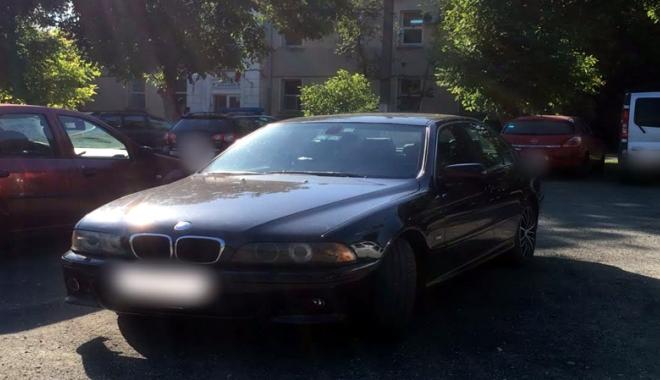 Foto: BMW furat în Austria, depistat la Constanţa