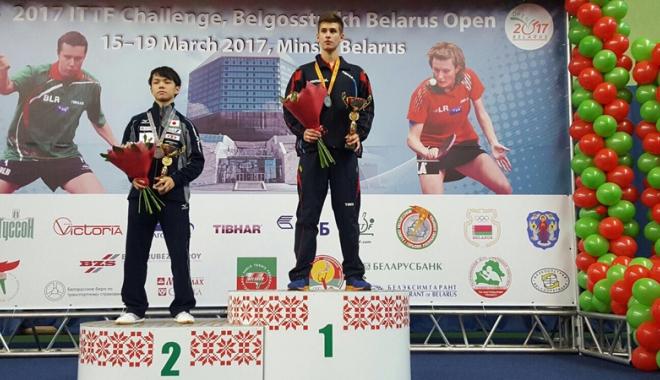Foto: Cristian Pletea străluceşte  la Openul Belarusului