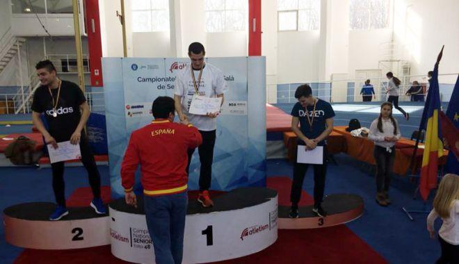 Foto: Constănţeanul Alexandru Bugheanu,  campion naţional de probe combinate - tineret
