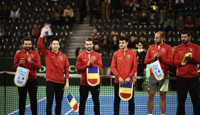 Foto: Edris Fetisleam a pus umărul la victoria tricolorilor în Cupa Davis