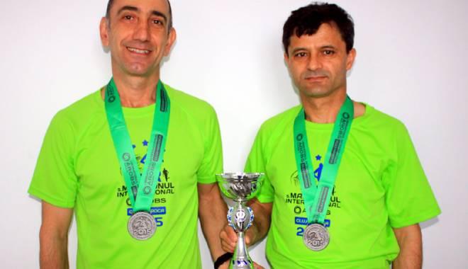 Foto: Alexandru Pop, aur la Maratonul Internaţional de la Cluj