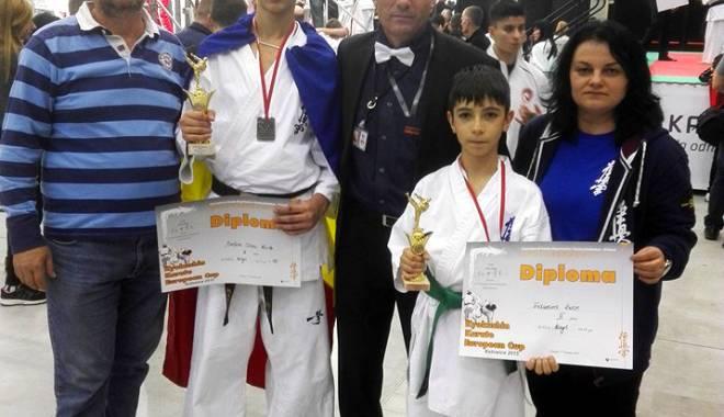 Foto: Constănţeanul Edward Ruse, bronz la Europenele de karate kyokushin