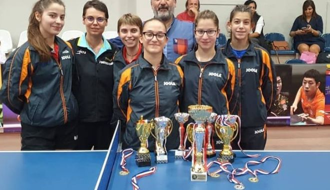 Constănțencele au dominat Jocurile Internaționale la tenis de masă din Cipru - constantencele-1572029879.jpg