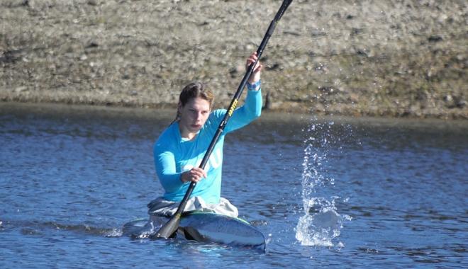 Foto: Constănţenii vâslesc pentru medalii, la Europenele de kaiac-canoe