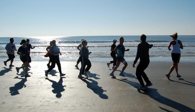 Foto: Constănţenii aleargă pentru o mare curată!