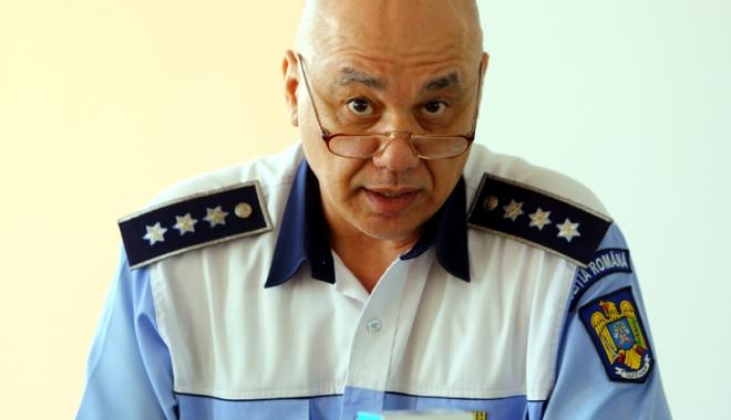 """Foto: Constantin Dancu, noul şef al IPJ Constanţa. Se anunţă """"mişcări de trupe""""?"""