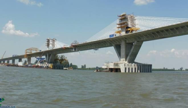 Foto: Când va începe construcția podului peste Dunăre