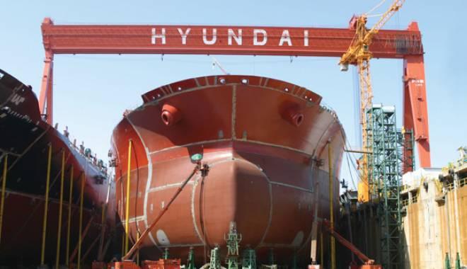 Foto: Constructorii de nave sud coreeni intră în grevă