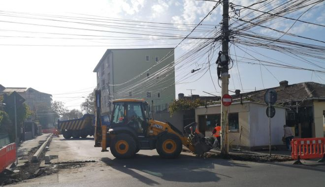 Continuă reabilitarea străzii Unirii. Trafic restricționat timp de două zile - continuareabilitarea1-1573505715.jpg